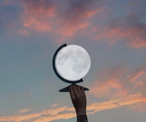 accessories, inspiration, and moon image