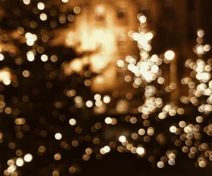 background, christmas, and light image