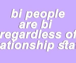bi, bisexual, and purple image