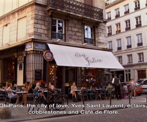 paris, quotes, and france image