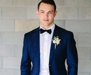 black suits, grey suits, and groom dresses image