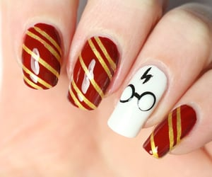 beautiful, harry potter, and nails image