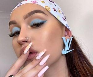 aesthetic, blue, and luxury image