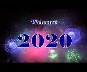 2020, video, and wishes image