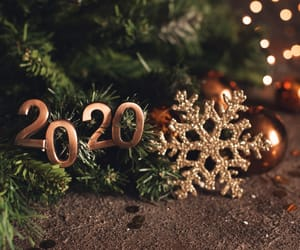 2020, happy new year, and inspire image
