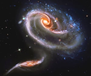 astronomy, galaxy, and space image