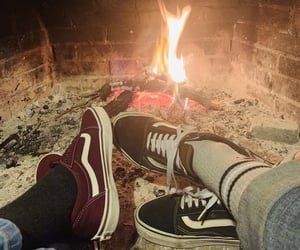 christmas, vans, and winter image