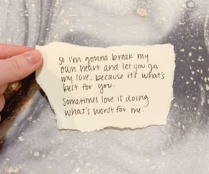 break, love quotes, and feelings image