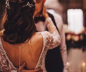 romance, wedding, and love image