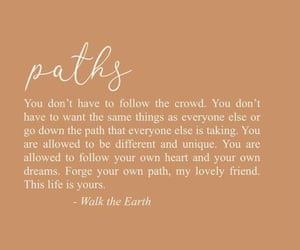 life, path, and quote image