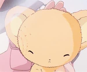 anime, gif, and sakura card captors image