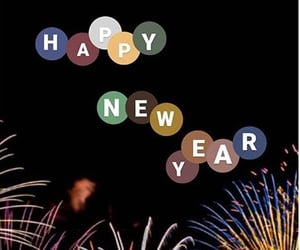 december, happy new year, and new year image