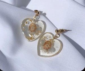 earrings and angel image