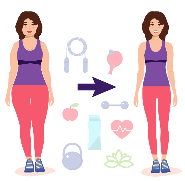 diet, weight loss, and weight loss challenge image