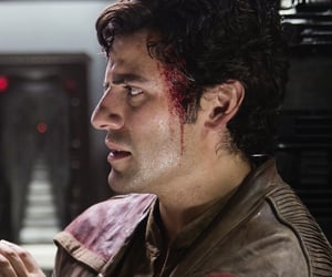 star wars, oscar isaac, and poe dameron image