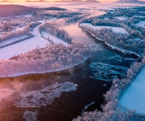 aerial photography, aerial view, and landscape image