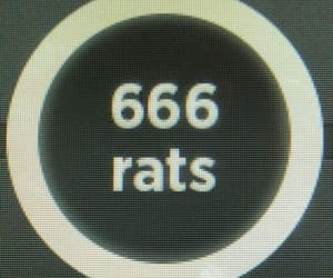 666, aesthetic, and edgy image