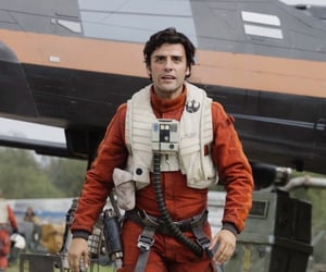 star wars, oscar isaac, and finnpoe image