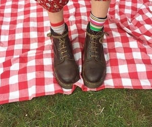 boots, green, and shoes image
