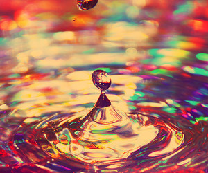 water, colors, and photography image