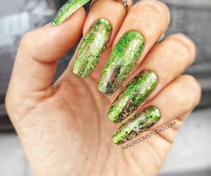 etsy, hand painted nails, and stiletto nails image