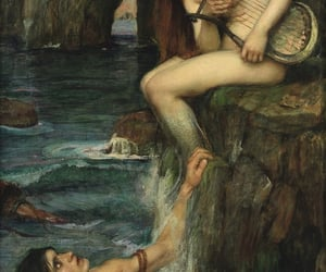 the siren, art is everywhere, and beware women with lyres image