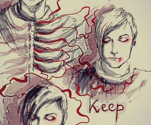 frank iero, my chemical romance, and famous last words image