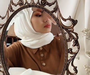 fashion, ❤, and hijab image