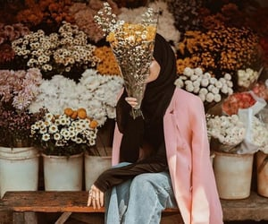 fashion, hijab, and بُنَاتّ image