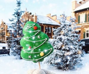 christmas, festive, and winter image