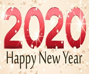 2020, happy new year, and wallpapers image