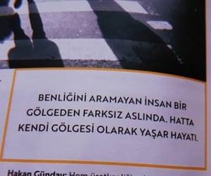 alıntı, türkçe sözler, and tuhaf dergi image