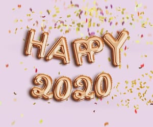 2020, new year, and happy image