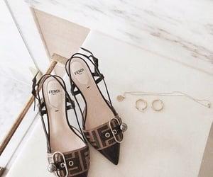 shoes, fashion, and fendi image