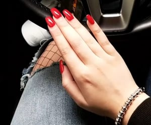 acryl, mercedes benz, and nails image