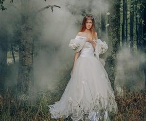 beautiful, conceptual, and dress image