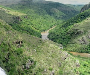 brasil, waterfall, and brazil image