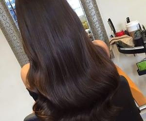 cheveux, long, and haïr image
