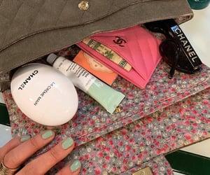 chanel, makeup, and bag image