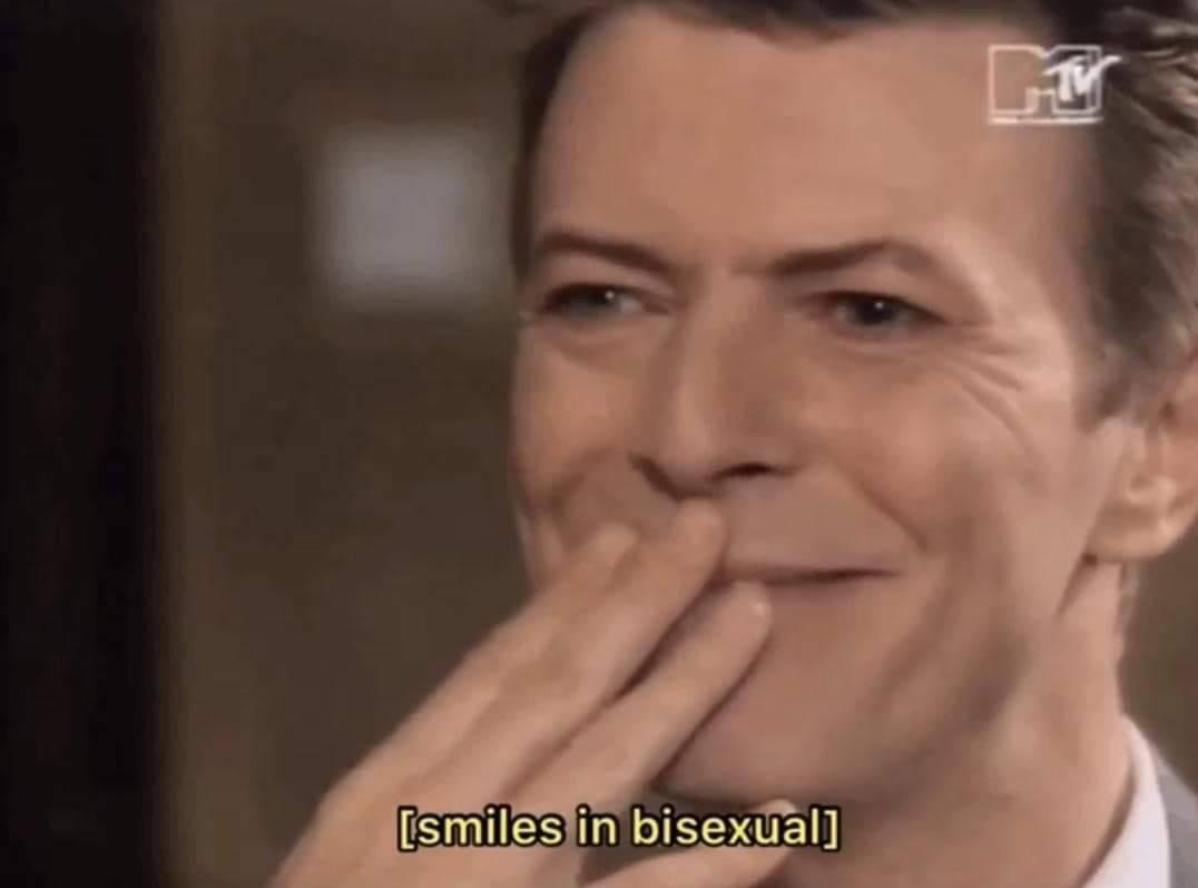 bi, smiles, and bisexual image