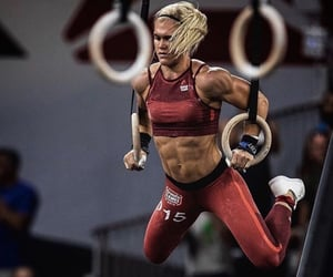 beauty, fit, and fitness image
