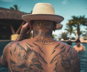aesthetic, back, and Tattoos image