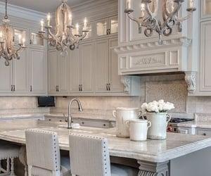 kitchen, luxury, and decor image