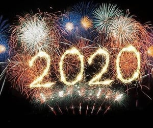 new year, 2020, and inspiracion image
