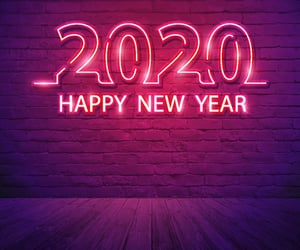 2020 and happy new year image