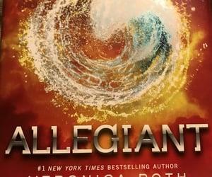 author, book, and allegiant image