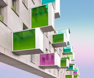 architecture, archi, and colors image