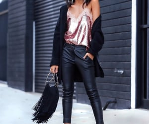 blogger, fashion, and guess image