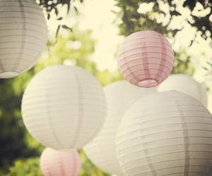 lanterns and pink image