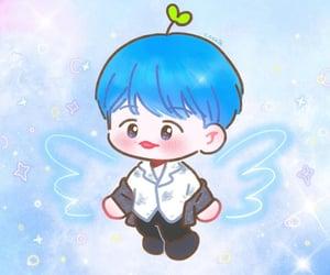 baby, byun baekhyun, and ángel image